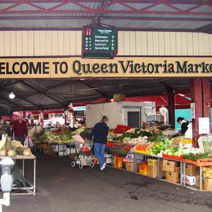 Queen Victoria Market. Royally shit.