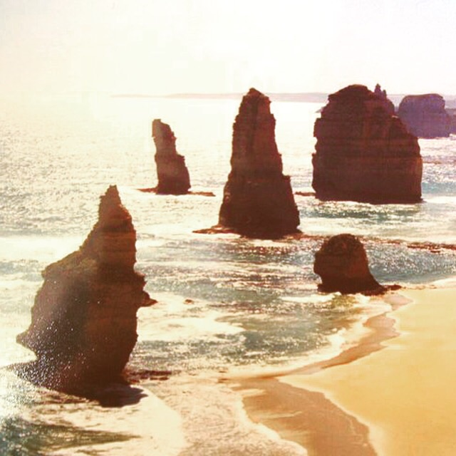 The Twelve Apostles.   There aren't actually twelve of them.
